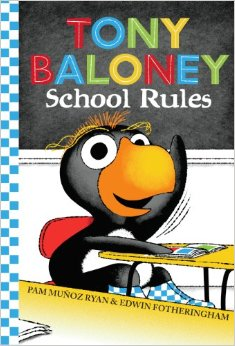 Tony Baloney School Rules Cover