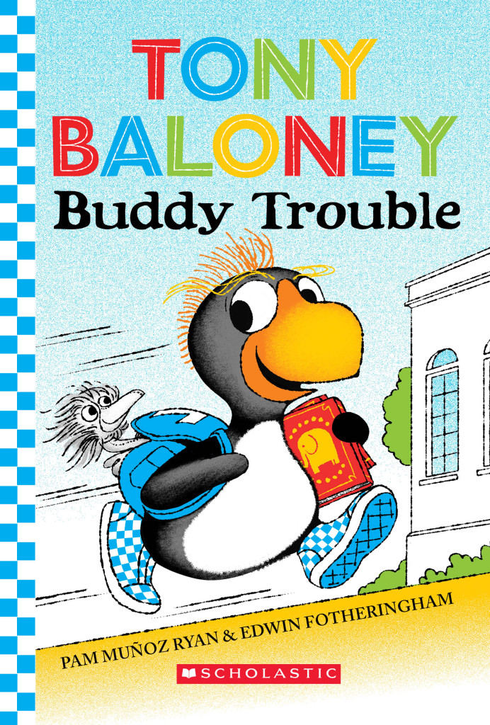 Tony Baloney Buddy Trouble Cover