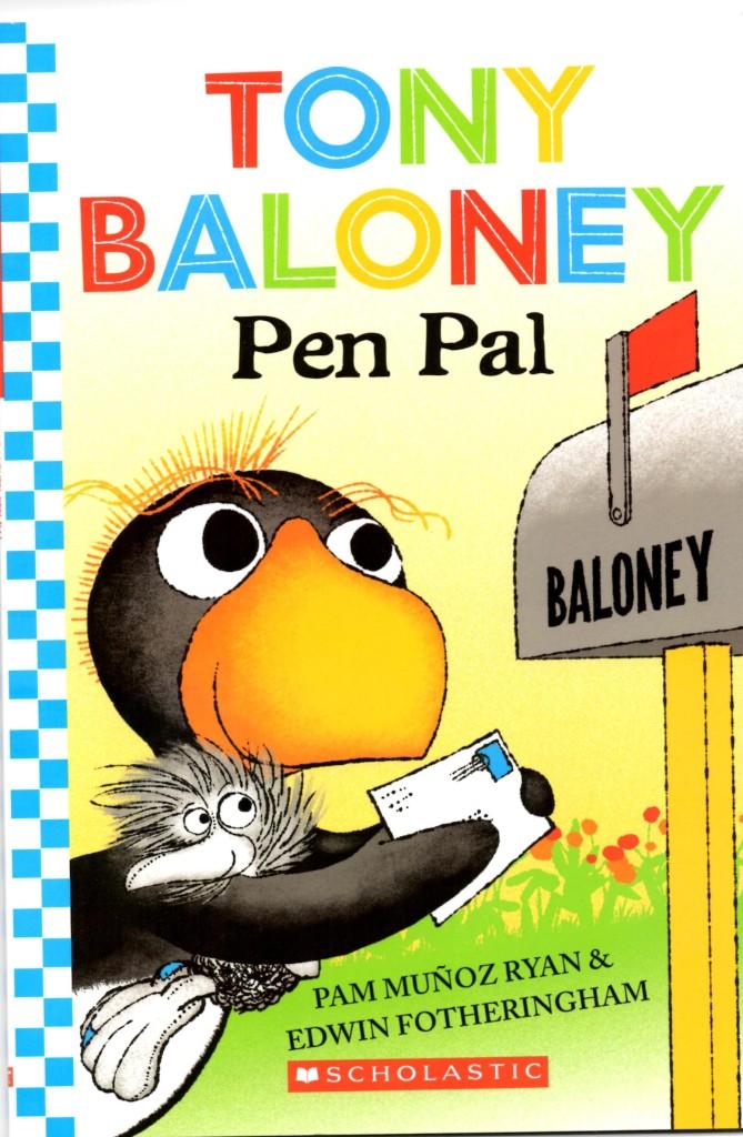 Tony Baloney Pen Pal Cover